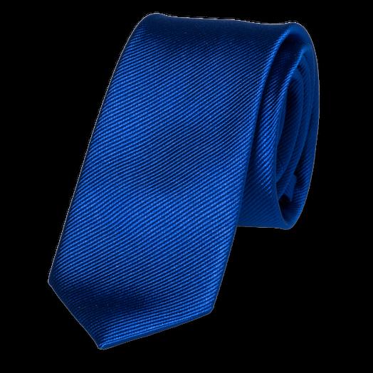 schmale krawatten kaufen schmale krawatte k nigsblau. Black Bedroom Furniture Sets. Home Design Ideas