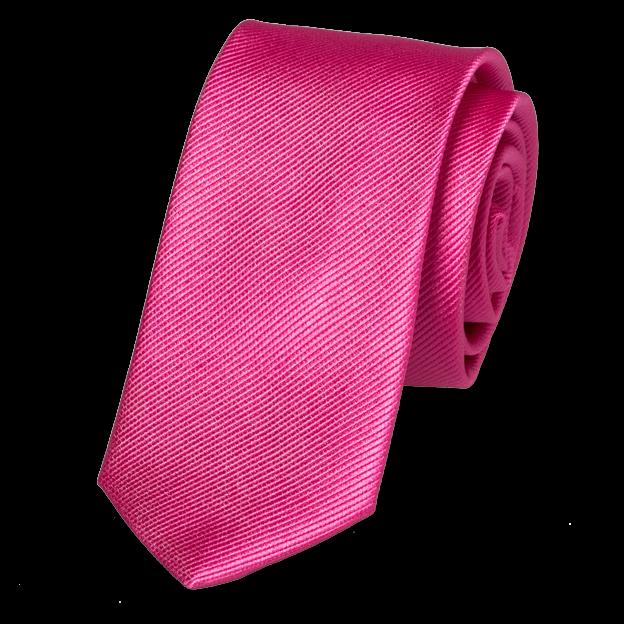 Schmale Krawatten Kaufen? Schmale Krawatte Grellrosa