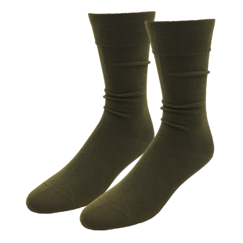 Grüne Herrensocken - E.L. Cravatte (1)