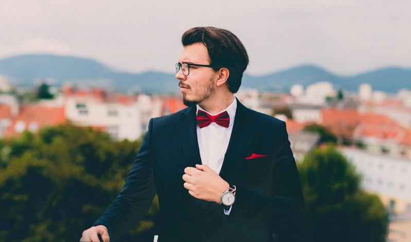 Anzug Einstecktuch