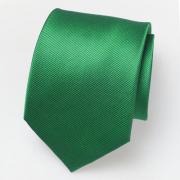 grüne Seidenkrawatte