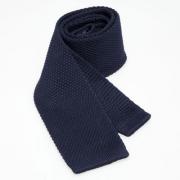 dunkelblaue gestrickte Krawatte