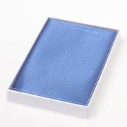 Seidentuch - blau