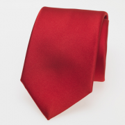 Krawatte rot satin