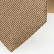 schmale Krawatte beige detail