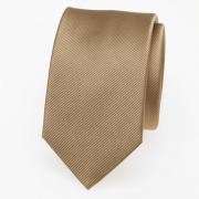 schmale Krawatte beige