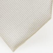 schmale Krawatte creme detail