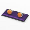 Manschettenknöpfe orange