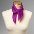 Seiden Nickituch violett
