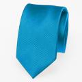 Schmale Krawatte grellblau