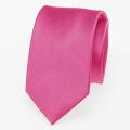 Schmale Krawatte grellrosa