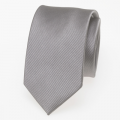 schmale Krawatte grau/silber