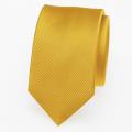 Schmale Krawatte in gelb