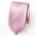 Schmale hellrosa Krawatte