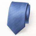 Schmale blaue Krawatte